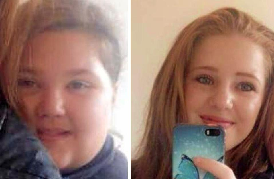 Police found two girls, aged 14 and 16, who were last seen in Dalby at around 10pm Sunday.