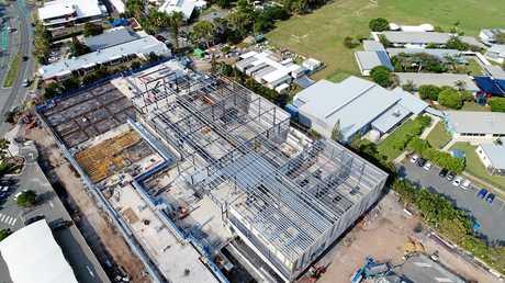 The new Event Cinemas Gold Class cinemas complex at Kawana Shopping Centre on the Sunshine Coast.