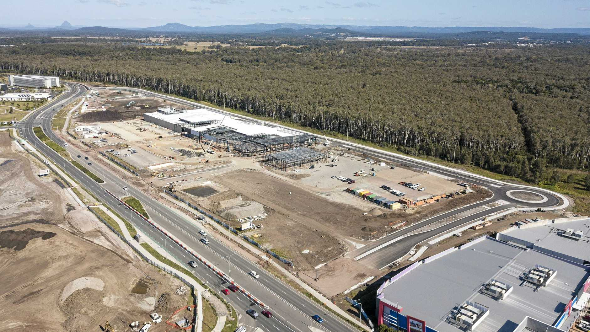 Stage one of Stockland's Birtinya Shopping Centre is progressing on track to open by Christmas this year, and feature a range of national and international retailers.