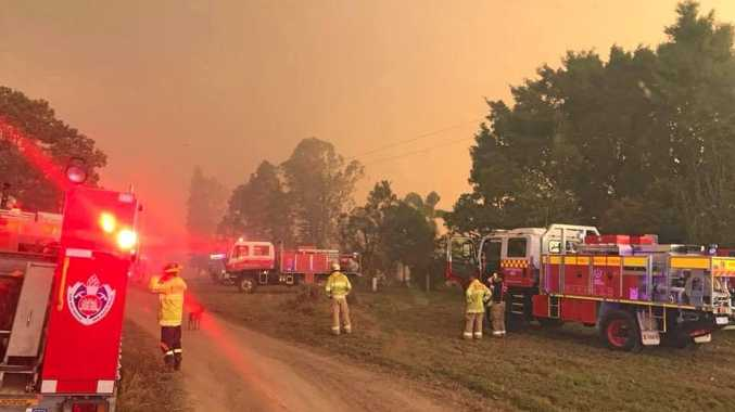 BREAKING: Bushfire threat upgraded, properties at risk