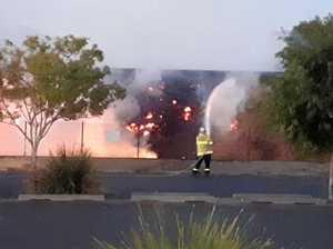 Suspicious fire in Grafton's CBD