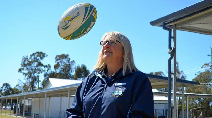 COACHING STAR: Dalby's Tammy Kavney is a finalist for the NRL Teacher of the Year award.