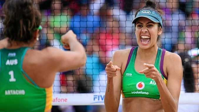 Burnett-born Olympian impresses at titles