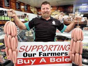 Butcher brings in big bucks for Buy a Bale