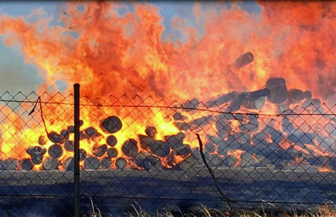 FIRE DANGER: Fire fighters are urging residents in the southwest to take precautions as conditions are right for bush and grass fires to spread quickly.