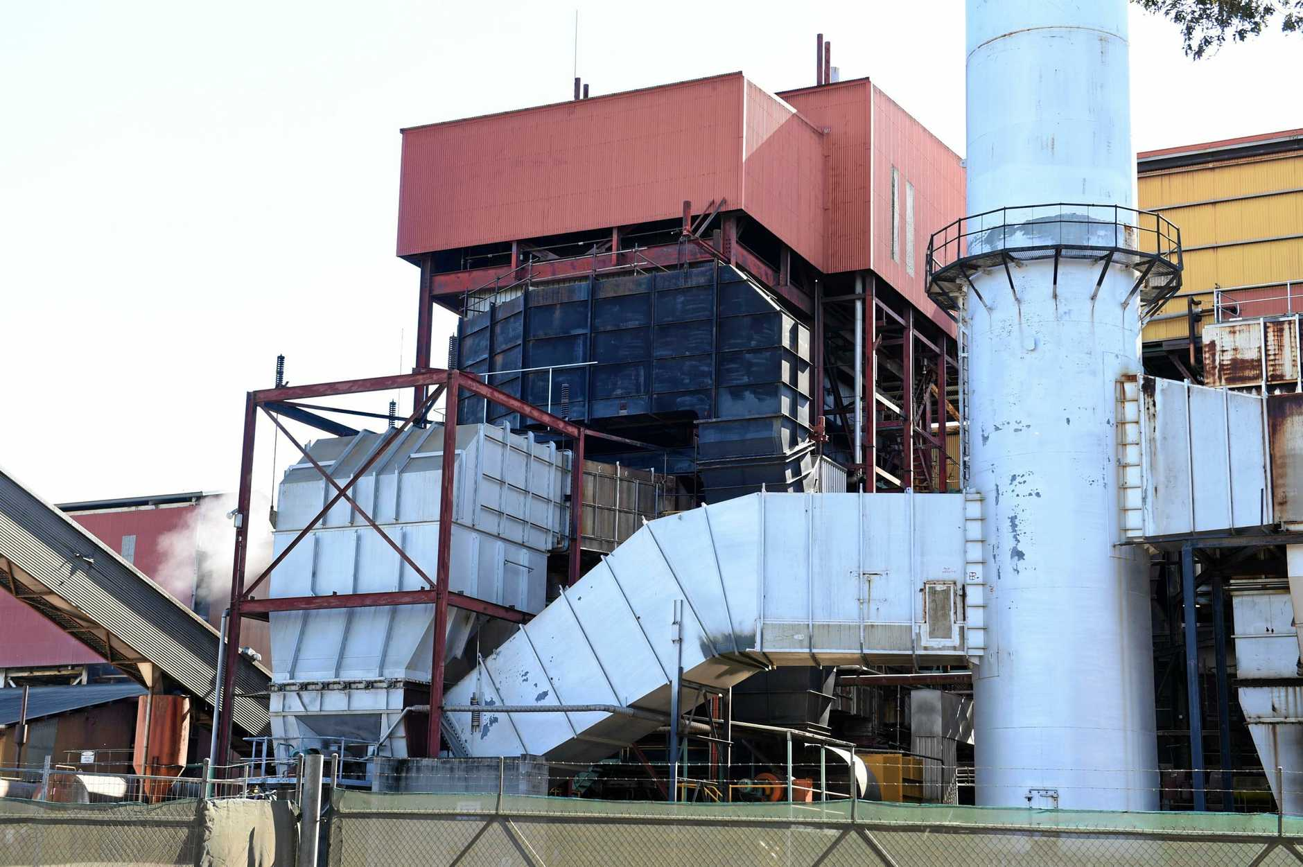 FACTORY FIRE: An overnight fire in one of the boilers at the Maryborough Sugar Mill has brought the factory to a halt for the next three days while repairs are carried out.
