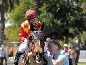 STANLEY SALUTES: Grafton jockey back to winning form
