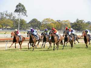 Stanley salutes at the Clarence River Jockey Club