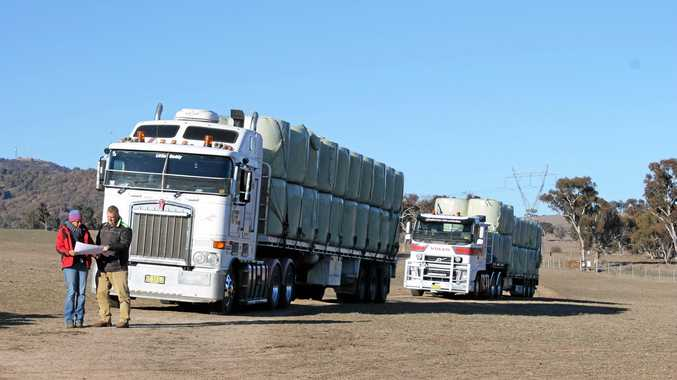 Bales delivered to Bendemeer, care of Coffs