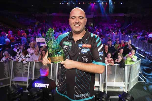 World champion Rob Cross has won the inaugural Brisbane Darts Masters.