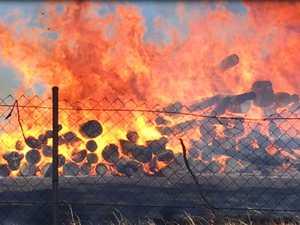 VIDEO: Extent of juvenile justice centre blaze revealed