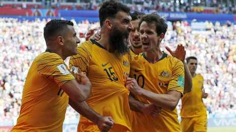 The Socceroos' run in the 2018 World Cup attracted plenty of attention. Photo: Toby Zerna