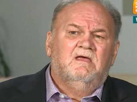 Thomas Markle can't stop speaking about his famous daughter. Picture: ITV