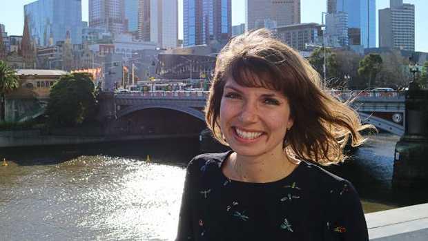 Gitta Scheenhouwer, 27, in Melbourne.