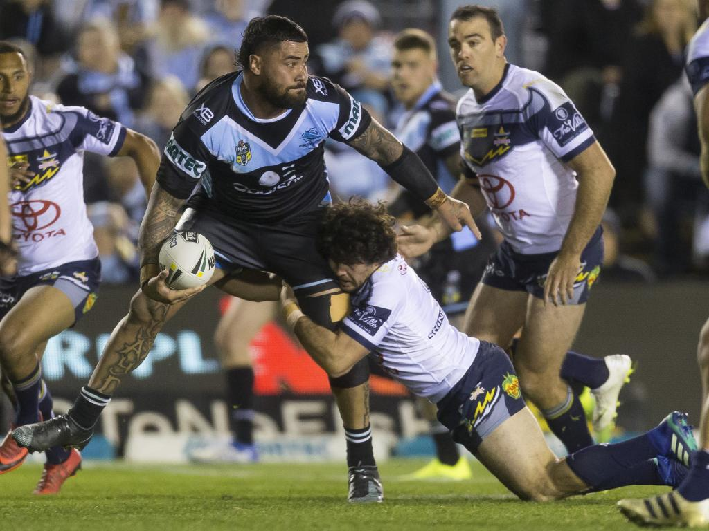 Andrew Fifita had been benched for 'not running hard'. Picture: AAP