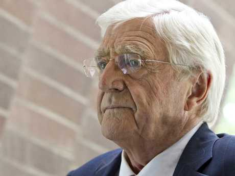"Veteran journalist Sir Michael Parkinson, 83, long term friend of Sir Billy Connolly, reports that the ""genius"" comic no longer recognises him. Picture: Charles Brewer"
