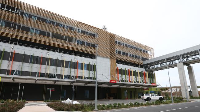 The Sunshine Coast University Hospital's emergency department. Picture: Jono Searle.