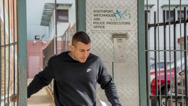 Alleged street gang member Harley Barbaro has had a number of stays at the Southport Watchhouse. Picture: Jerad Williams