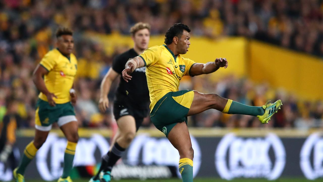 Kurtley Beale has played 31 Tests for the Wallabies at fullback and was nominated as World Player of the year in 2010.