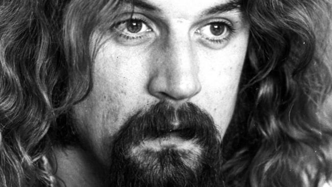 Comedian Billy Connolly in 1976. Picture: Supplied