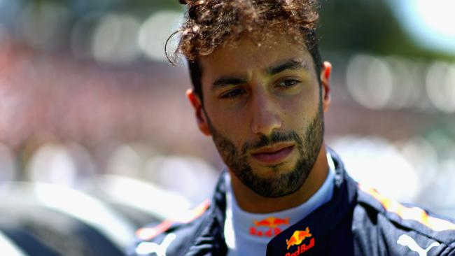Daniel Ricciardo's replacement has yet to be named.