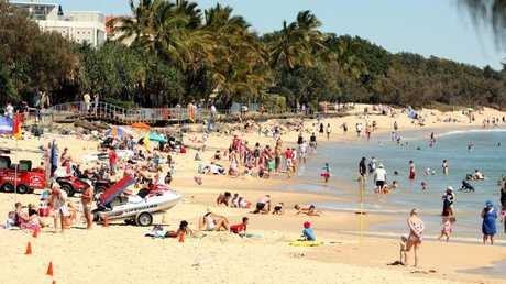 Main Beach at Noosa is a popular attraction with both locals and tourists.