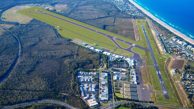 An artist's impression of the Sunshine Coast Airport Expansion project.
