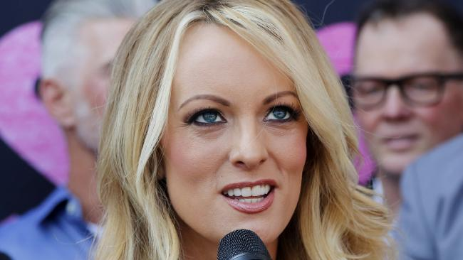 Stormy Daniels has allegedly hired bodyguards and bought a gun after pulling out of . Picture: AP Photo/Ringo H.W. Chiu