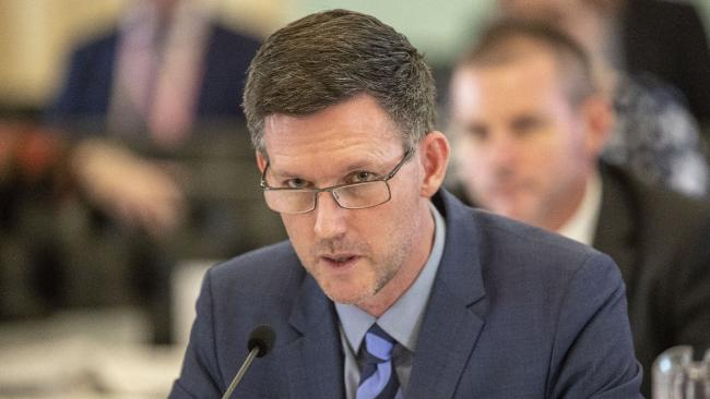 Despite repeated requests, Transport Minister Mark Bailey has not told peak industry bodies why the Government is proceeding with the new laws. Picture: AAP/Glenn Hunt