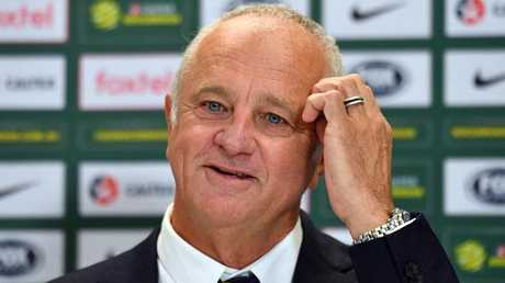 Australian Socceroos coach Graham Arnold. Photo: AAP