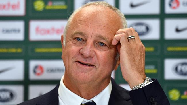 Australian Socceroos coach Graham Arnold. Photo: AAP