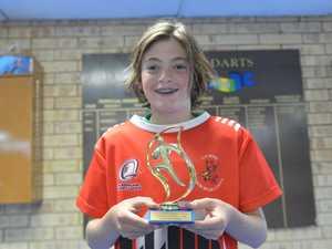 Under 11s Dragons Levi Bourke.