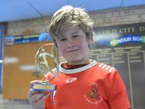 Under 11s Dragons Max Rankin.