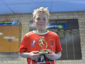 Under 11s Dragons Cohen Condon.