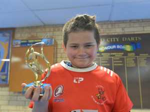 Under 11s Dragons Jyles Searle.