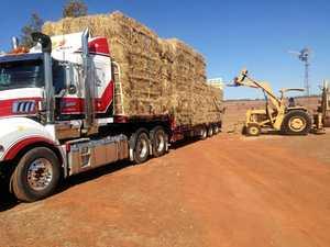 Tassie truckies dig deep to help