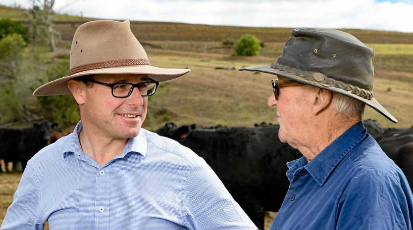 SENSIBLE MOVE: Maranoa MP David Littleproud said he was pleased the National Energy Guarantee would not go before parliament.