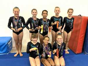 Young gymnasts ready to raise the bar