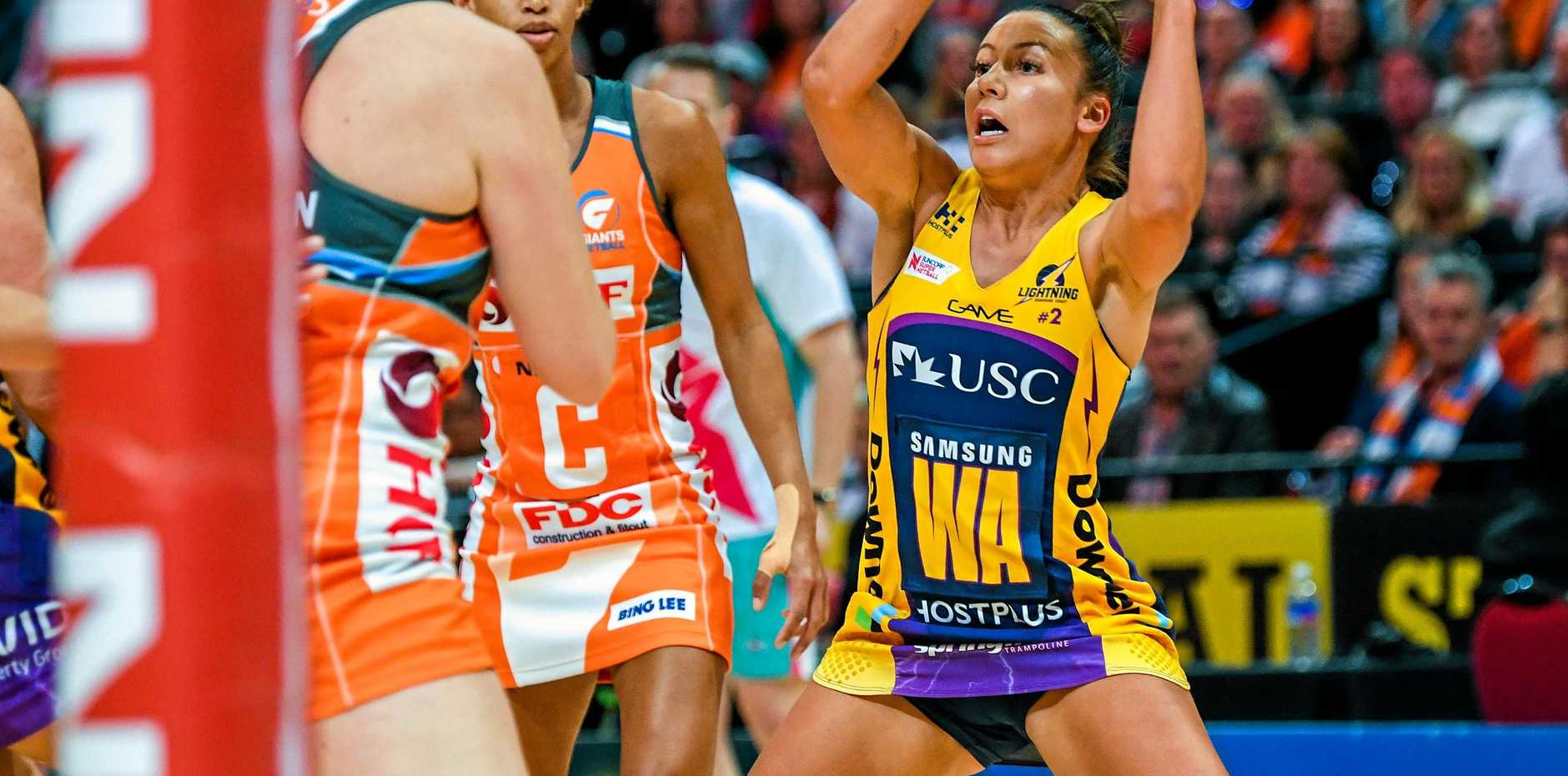 Wing attack Kelsey Browne says the unheralded Lightning mid-court are finally clicking, just at the right time.