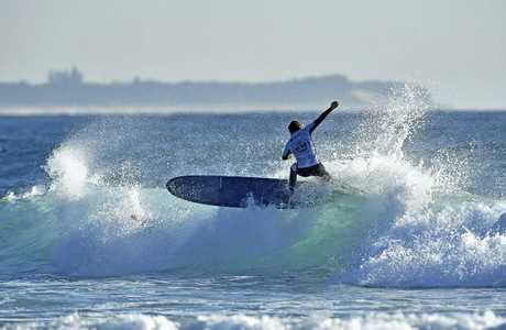The Australian Longboard Titles stayed at Cabarita longer than expected last week as Cabarita presented organisers with the best waves for competition.