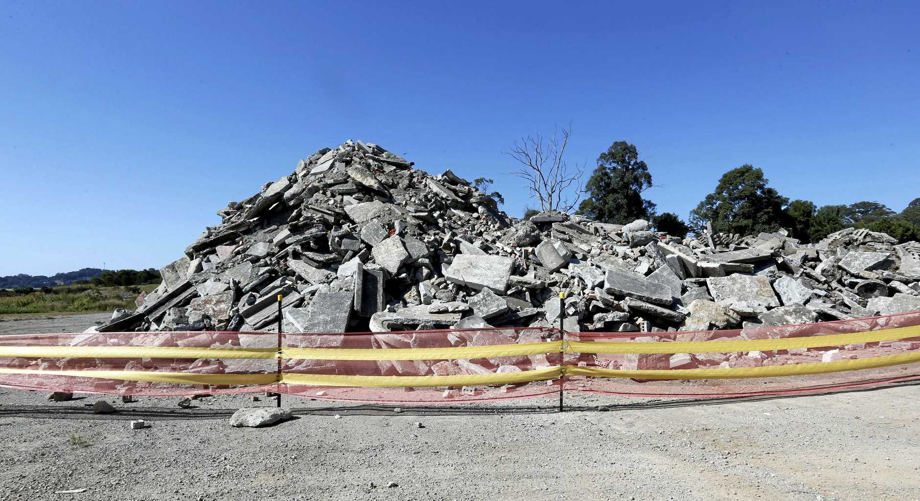 PLENTY OF ROOM: Tweed Shire Council says it can manage 100 years of waste following approval to use Quirks Quarry for landfill.