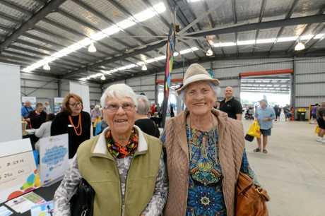 Barbara Henwood and Joy Calder.