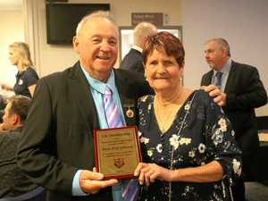 Johnson recognised for years of service