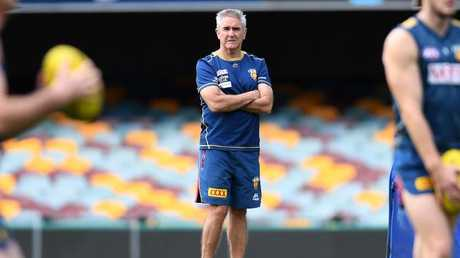 Chris Fagan is entering his third year at the helm. Picture: AAP