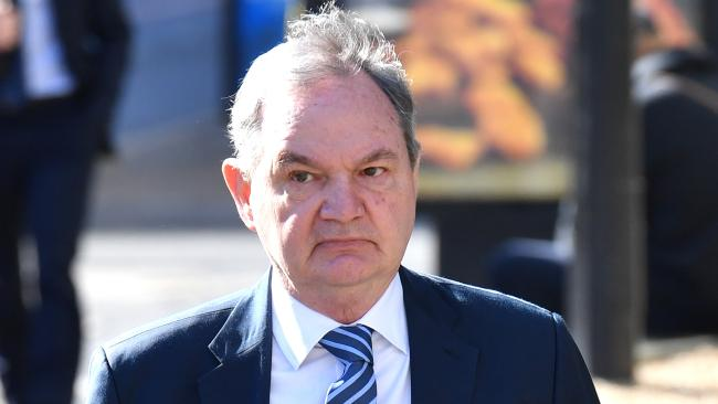 Former Ipswich mayor Paul Pisasale is alleged to have received inducements when mayor. Picture: AAP/Darren England