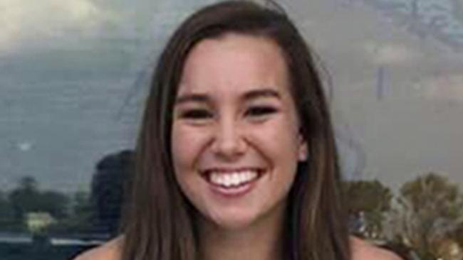 Mollie Tibbetts, a University of Iowa student who was reported missing from her hometown on Thursday, July 19. Picture: AP