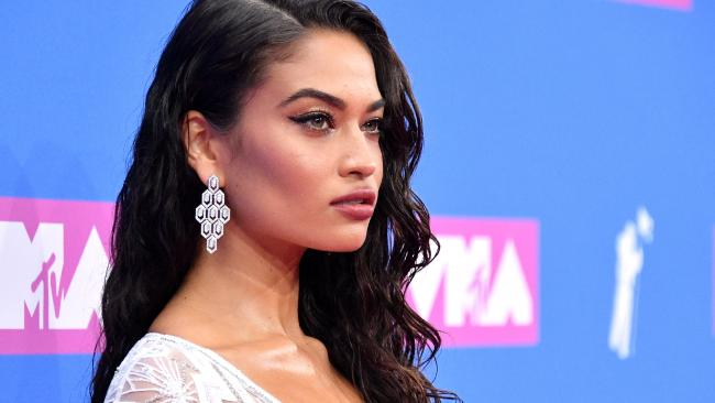Australian model Shanina Shaik is a presenter at the 2018 MTV Video Music Awards in New York. Picture: Getty Images