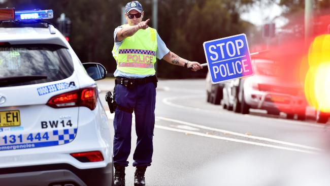 Licence, please: Police conduct an RBT