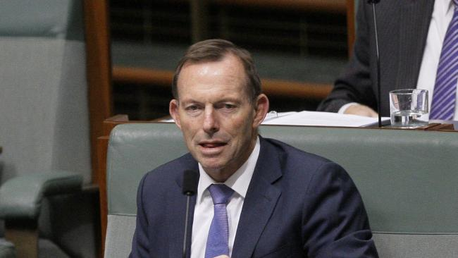 Former Australian Prime Minister Tony Abbott has two interests: Tony Abbott and destroying Malcolm Turnbull. (Pic: Rod McGuirk/AP)