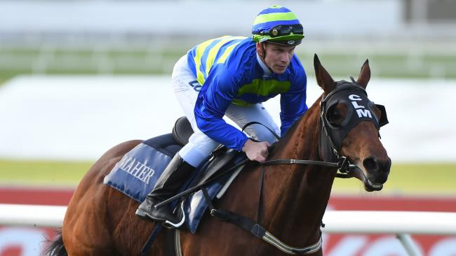 Jameka failed to impress during a trial at Caulfield on Tuesday. (Photo: AAP Image/James Ross)
